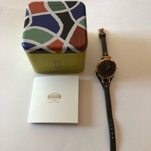Fossil Women's Watch Tin Series